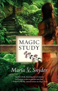 Magic Study Maria V. Snyder Book Cover