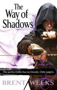 The Way Of Shadows Brent Weeks Book Cover