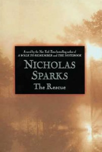 the rescue nicholas sparks book cover
