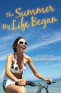 The Summer My Life Began Shannon Greenland Book Cover
