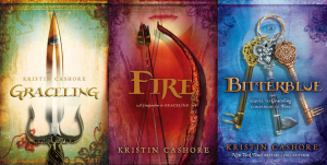 seven kingdoms trilogy Kristin Cashore
