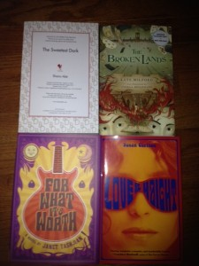 Four Review Books