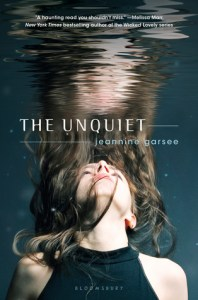 The Unquiet Jeannine Garsee Book Cover