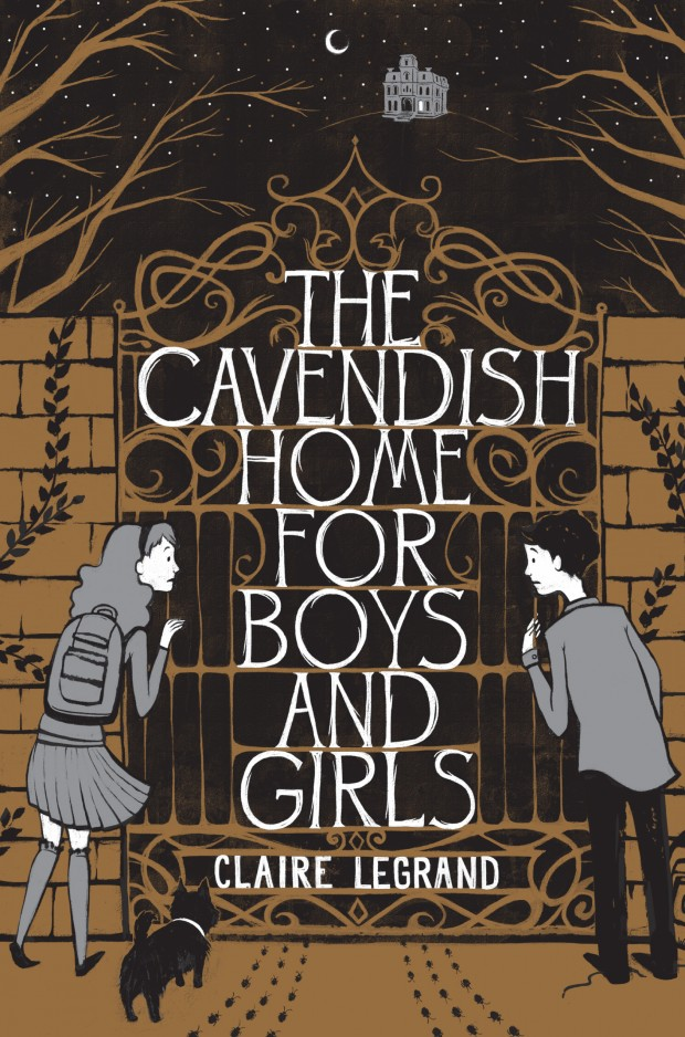 The Cavendish Home For Boys And Girls Claire Legrand Book Cover