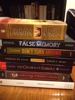 Bout Of Books Stack