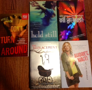 5 Book Flash Giveaway