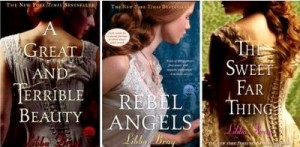 A Great And Terrible Beauty by Libba Bray Trilogy Book Covers
