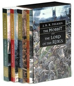 Lord Of The Rings JRR Tolkien Box Set