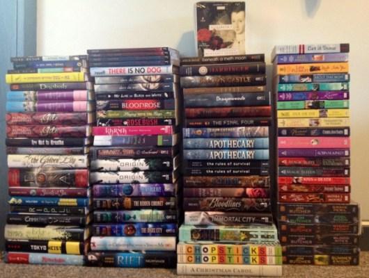 Penguin Putnam 2012 Book Sale Haul