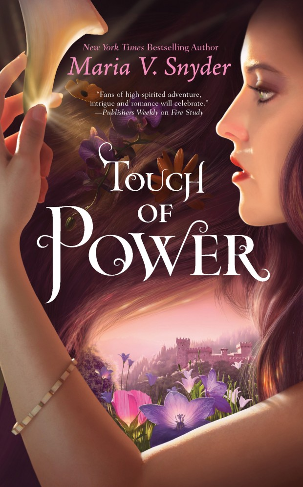 Touch Of Power Maria V Snyder Book Cover