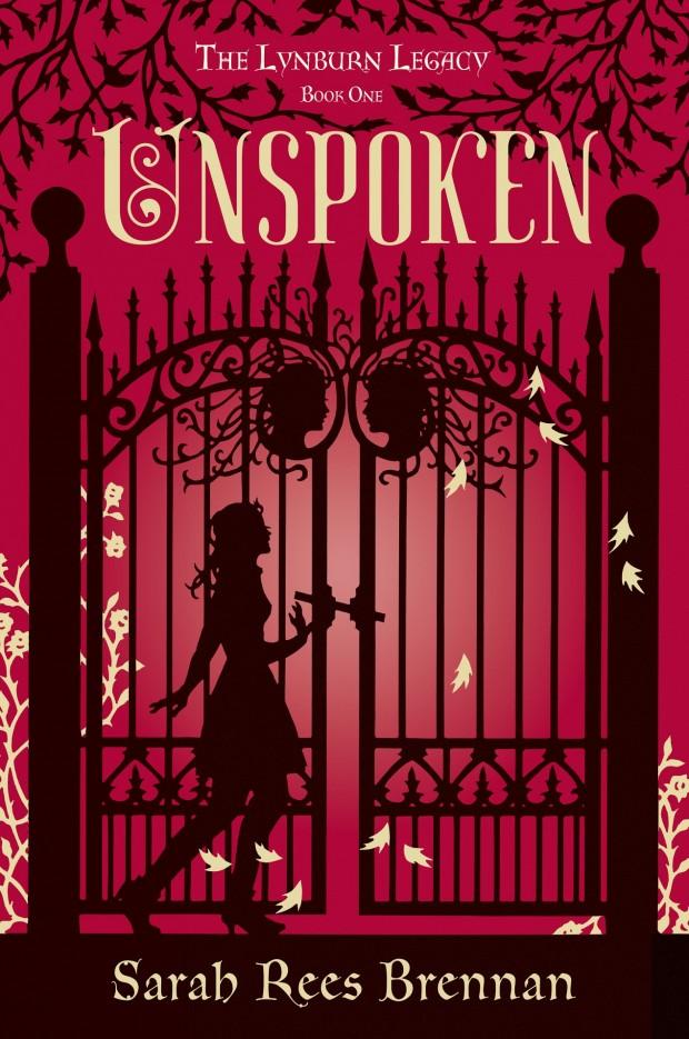 Unspoken Sarah Rees Brennan Book Cover