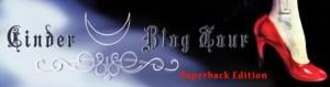 Cinder Paperback BlogTourLogo