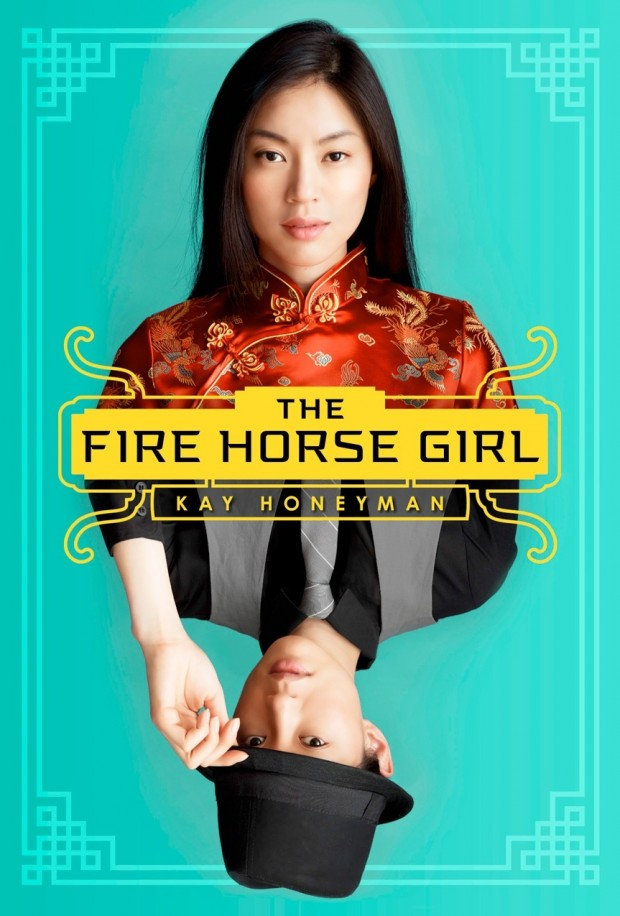 The Fire Horse Girl Kay Honeyman Book Cover