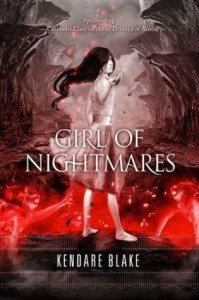 Girl of Nightmares Kendare Blake Book Review