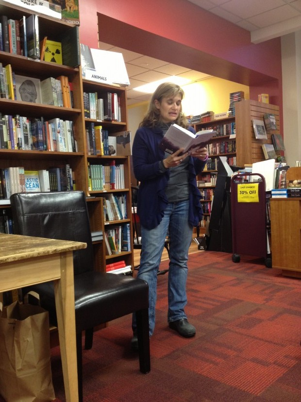 Kimberly Sabatini reading from Touching The Surface | Good Books And Good Wine