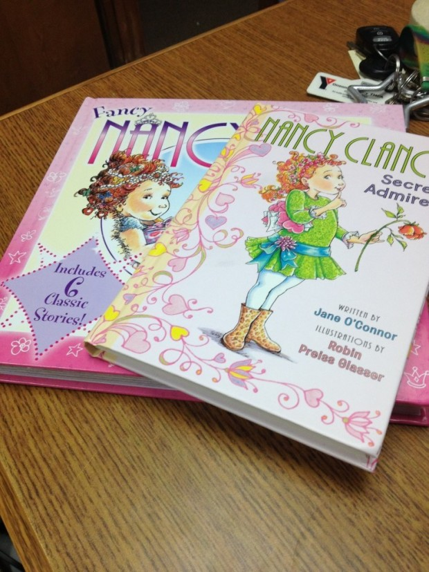 Fancy Nancy Clancy by Jane O'Connor | Good Books And Good Wine