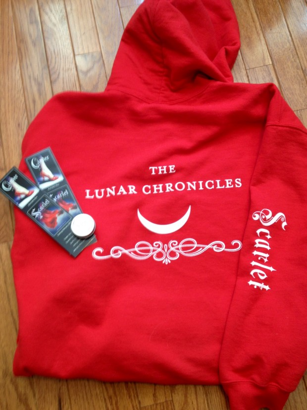 Scarlet by Marissa Meyer Hoodie | Good Books And Good Wine