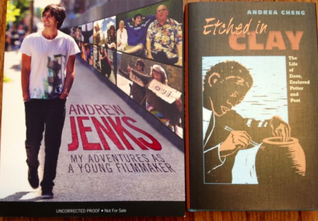 Andrew Jenks: My Adventures As A Young Filmmaker; Etched In Clay by Andrea Cheng | Good Books And Good Wine