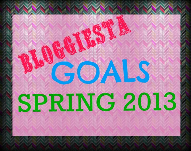 Bloggiesta Goals   Good Books And Good Wine