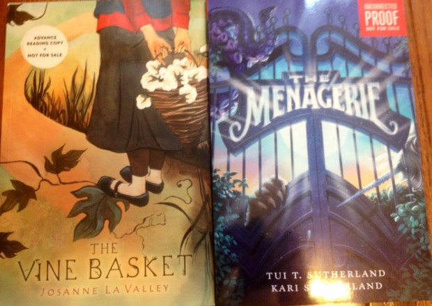 The Vine Basket and The Menagerie books | Good Books And Good Wine