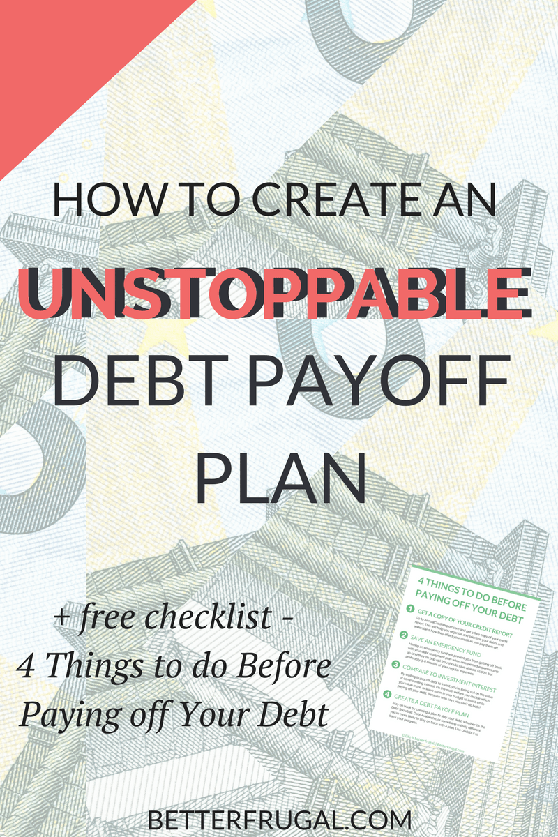 Are you ready to get serious about paying off your debt? Check out this article on the REAL differences between the Debt Snowball and Debt Avalanche methods and how you can create an unstoppable debt payoff plan! (Warning: The numbers may surprise you!) debt snowball   debt avalanche   debt payoff plan   debt payoff   debt free
