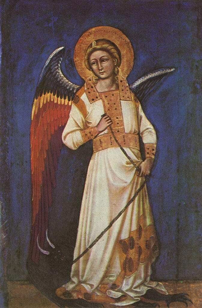 The power and majesty of the angels deserves great respect.