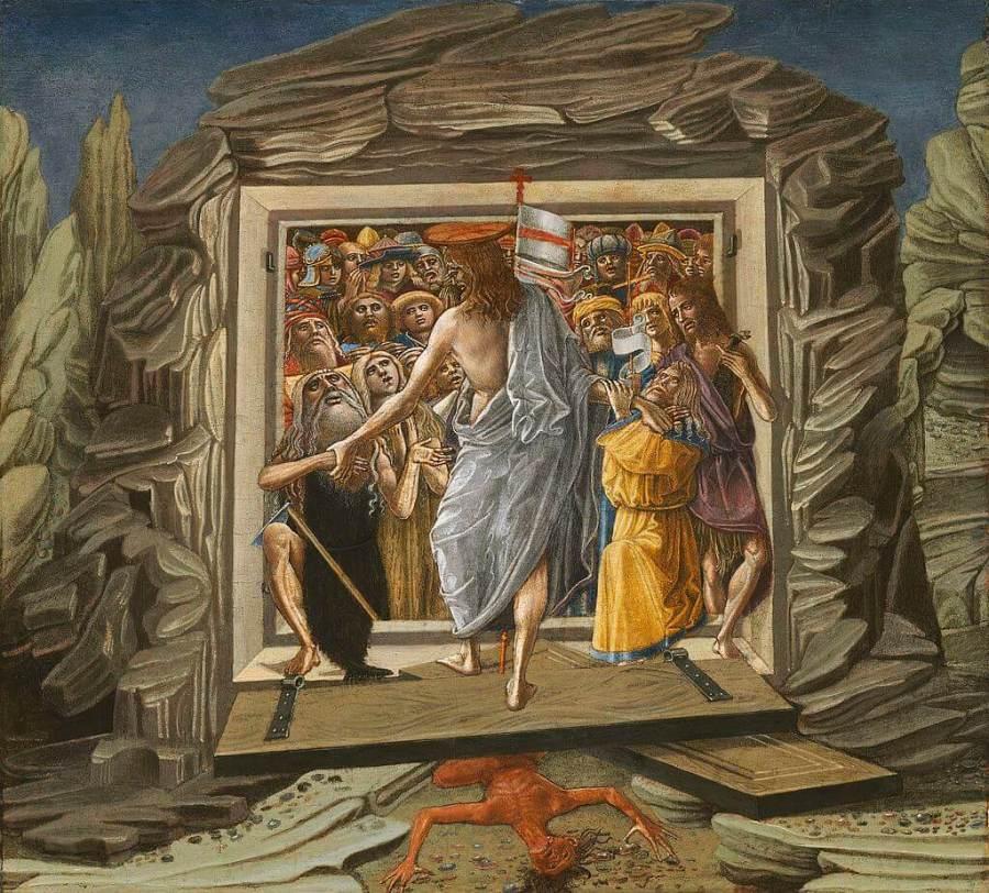 Harrowing Of Hell Benvenuto di Giovanni