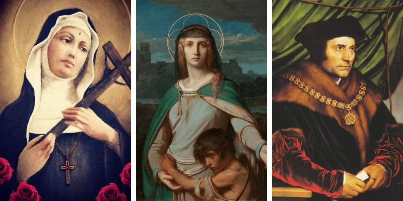 Heroes and Homemakers: 10 Patron Saints of Marriage