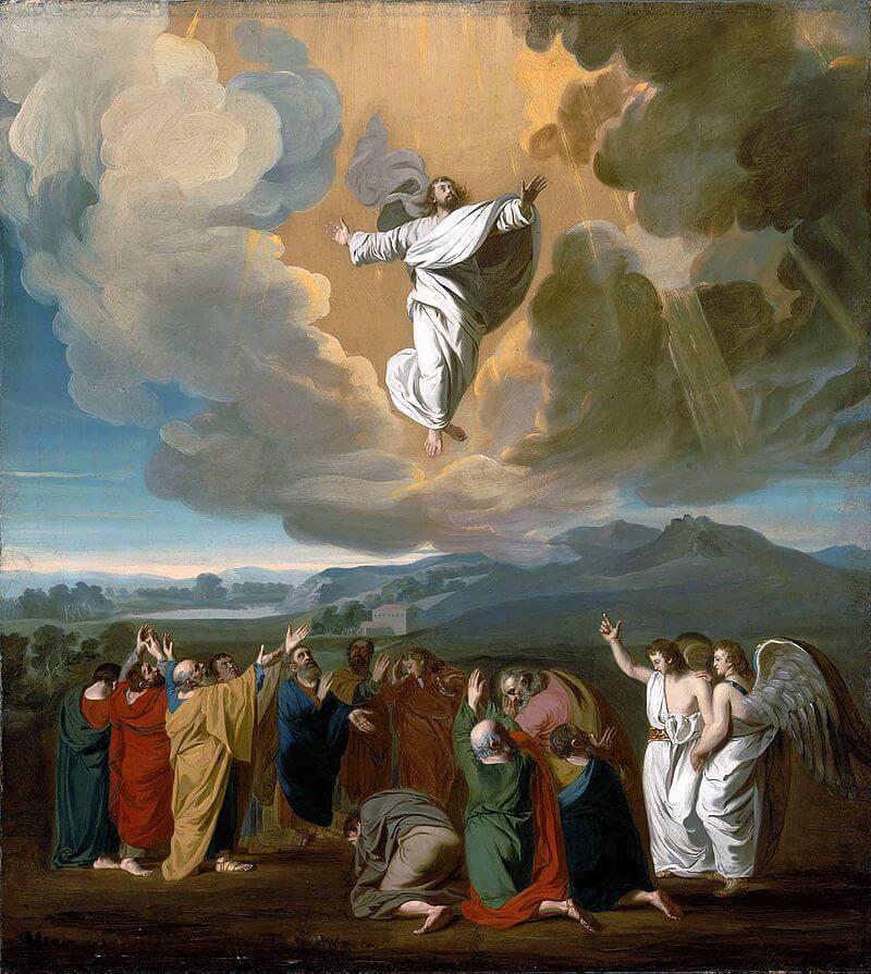 John Singleton Copley's Ascension (1775)