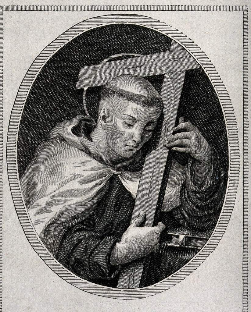 Saint John Joseph of the Cross. Engraving by Alessandri after P.A. Novelli. Credit: Wellcome Library, London CC BY 4.0