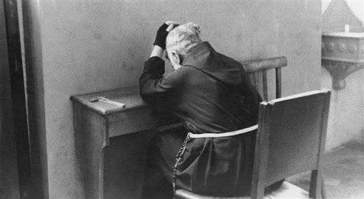 Padre Pio in solitude