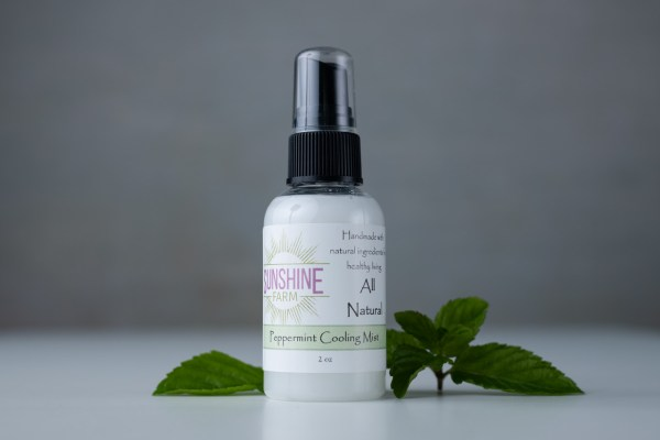 Peppermint cooling mist