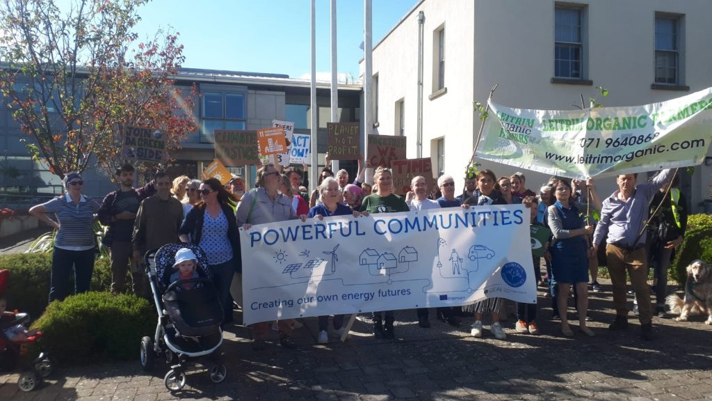 Climate Walk in Carrick-on-Shannon on the 20th September