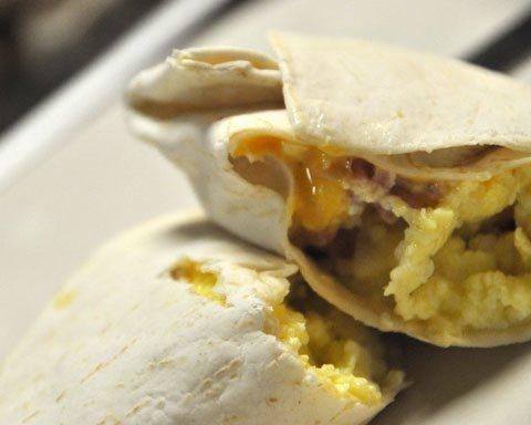 Breakfast Freezer Burritos