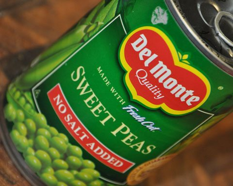 Can of Sweet Peas