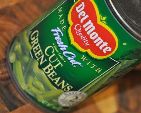 Can of Green Beans