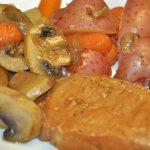Easy Sherry Pork Chop Skillet