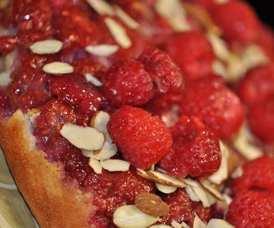 Gooseberry Upside Down Cake