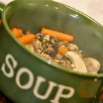 Beef, Barley and Kale Soup