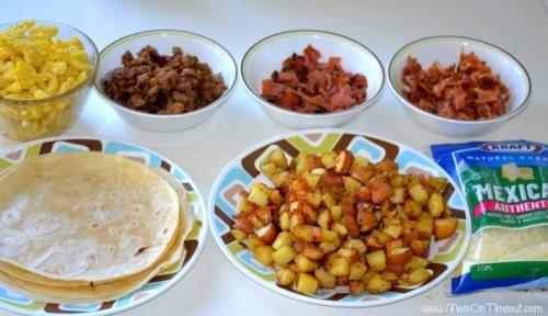 Breakfast-Burrito-ingredients