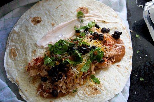 Deluxe burrito