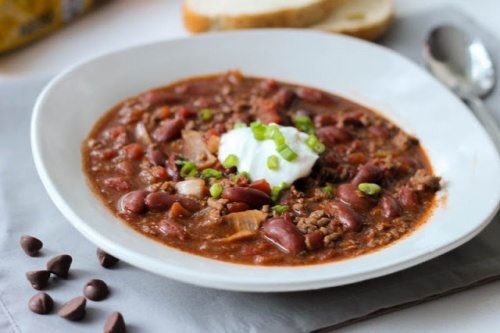 Crock Pot Chili - Two Secret Ingredients