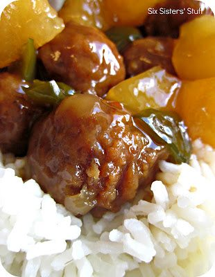 Slow Cooker Hawaiian Meatballs