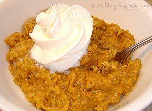 Pumpkin Pie Crock Pot Oatmeal