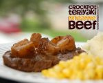 Quick Crockpot Teriyaki Pineapple Beef