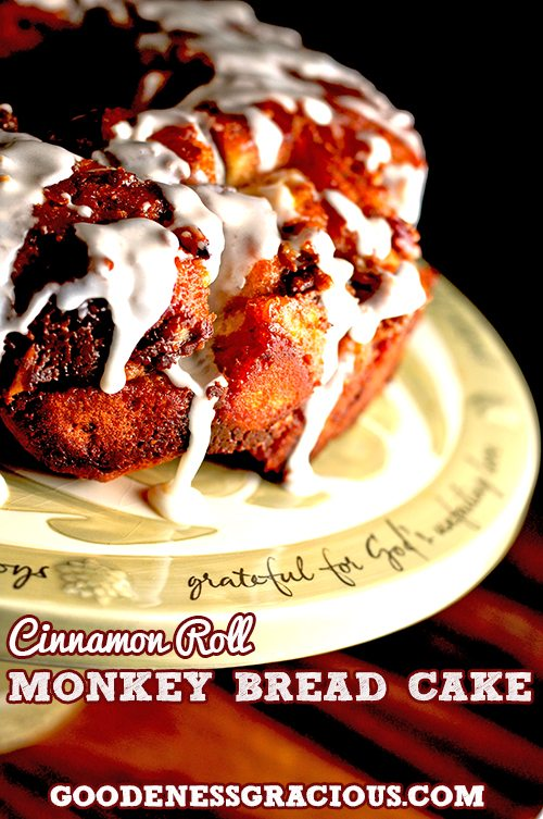 Monkey Bread Cinnamon Roll