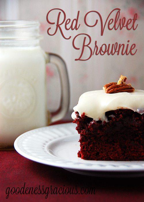 Red Velvet Brownie