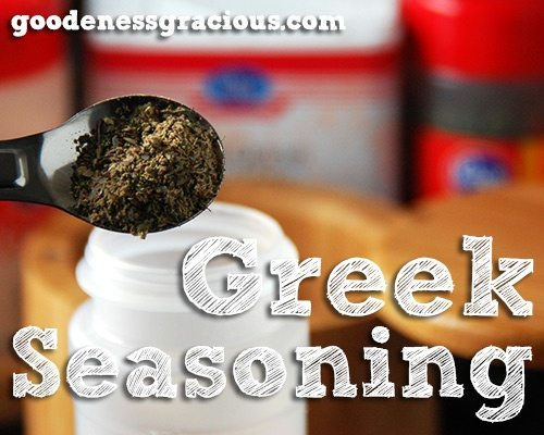 Greek Seasoning Recipe