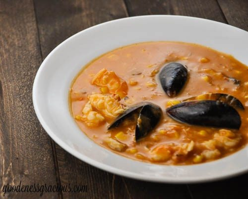 Seafood Corn Bisque