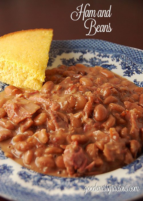 Ham and Beans recipe